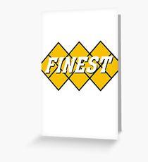 Capcom vs snk 2 cvs2 Classic RARE FINEST Design. 100% Redrawn In Adobe Illustrator Vector Format Greeting Card