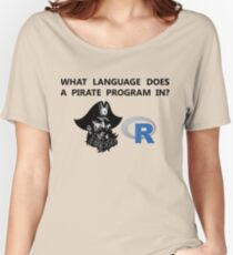 R data pirate Women's Relaxed Fit T-Shirt