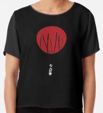 Seven Samurai Chiffon Top