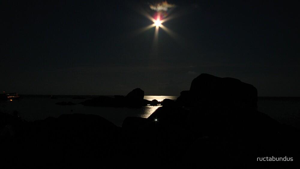 Koh Tao Full Moon by ructabundus