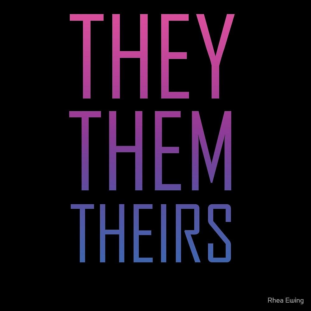 They Them Bi Pride by Rhea Ewing
