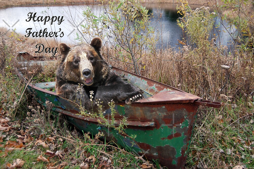 Papa Bear  by Maria Dryfhout