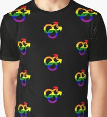 Gay Pride Graphic T-Shirt