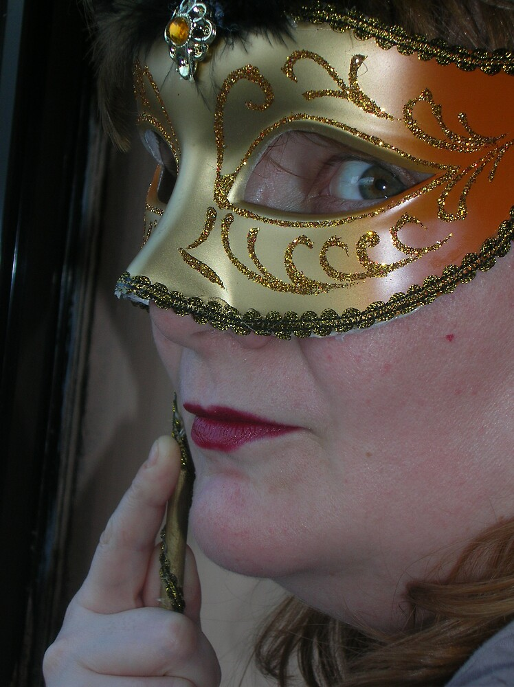 mystery and mask  photograph 2008 by yorkyanne
