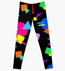 Large Colourful Shapes Leggings
