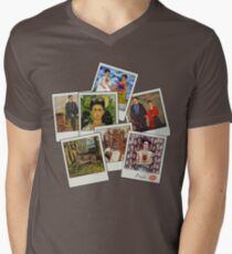 Polaroid Kahlo Men's V-Neck T-Shirt