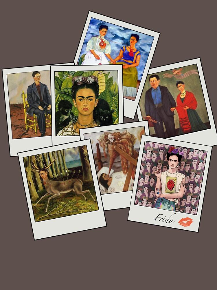 Polaroid Kahlo by AManDuhhh