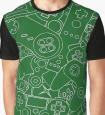 Control Freak Green || Video Game Nerd Graphic T-Shirt