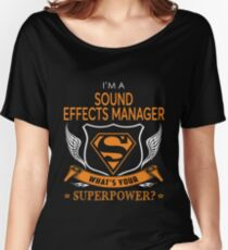 SOUND EFFECTS MANAGER Women's Relaxed Fit T-Shirt