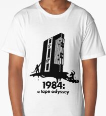 1984 a tape odyssey ~ space Long T-Shirt