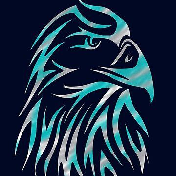 Tatuaje de medianoche águila de NoraMohammed