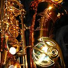 The Beauty of Bronze - Saxophone Engravings by SunriseRose