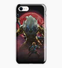 Zelda - Gold Lynel - Blood Moon iPhone Case/Skin