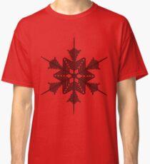 Snowflake 1 black Classic T-Shirt