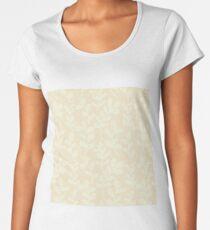 Grunge floral background. Vector texture background. Floral pattern. Women's Premium T-Shirt