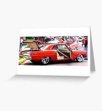 car show Greeting Card