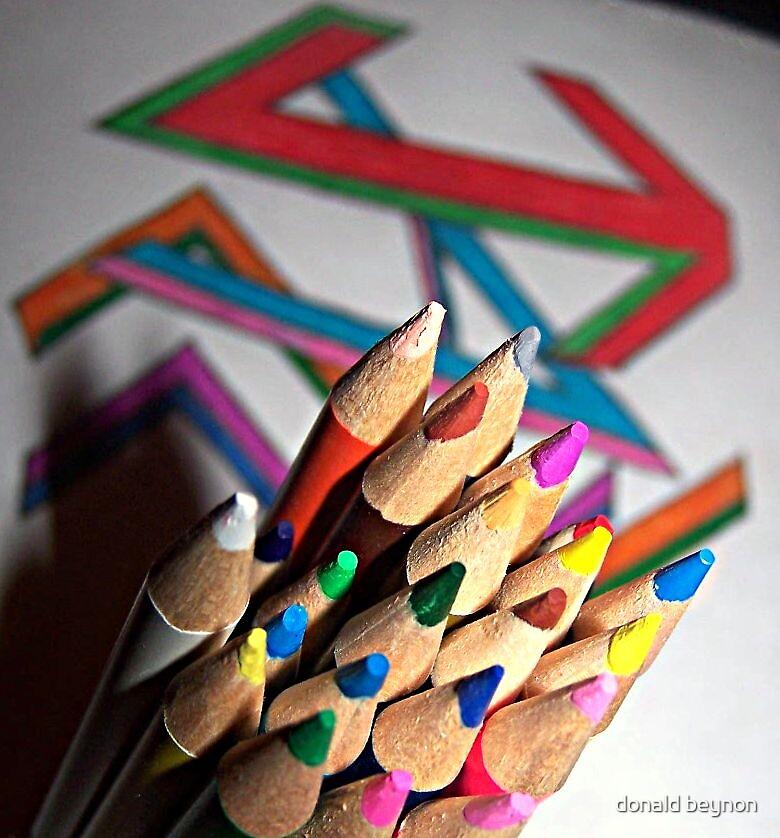pencils by donald beynon