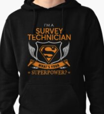 SURVEY TECHNICIAN Pullover Hoodie