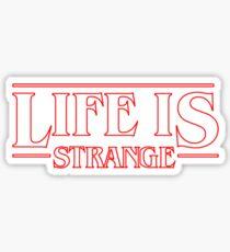 Pegatina Life is Strange - Stranger Things Logo Style
