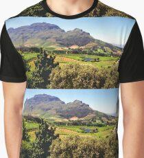 Stellanbosch, South Africa Graphic T-Shirt