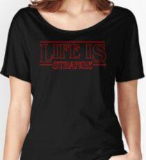 Life is Strange - Stranger Things Logo Style Women's Relaxed Fit T-Shirt
