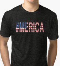 #Merica Tri-blend T-Shirt
