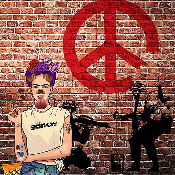 Banksy Kahlo by AManDuhhh