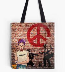 Banksy Kahlo Tote Bag