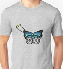 BABY PRAM STROLLER CARRIAGE RETRO Unisex T-Shirt
