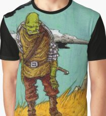 On the Hill top Graphic T-Shirt