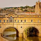 Pulteney Bridge by wallarooimages