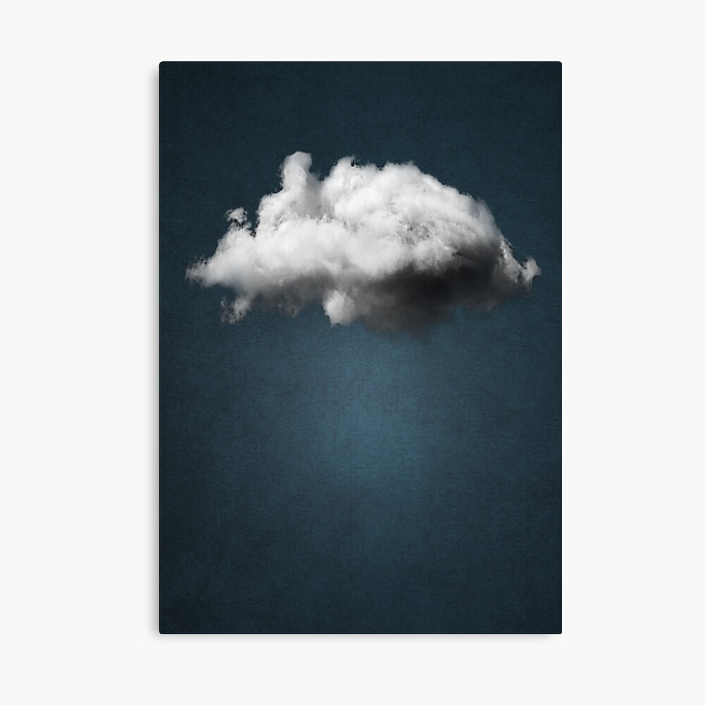 WAITING MAGRITTE Canvas Print