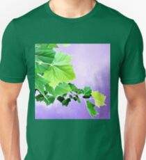 Sycamore Tree Leaves Over Water  Unisex T-Shirt