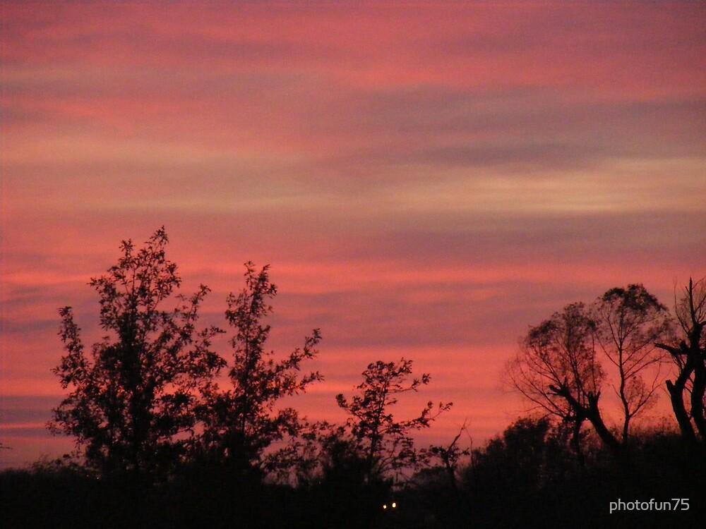Oklahoma sunset by photofun75