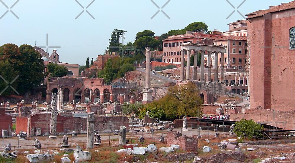Forum Romanum by Tom Gomez