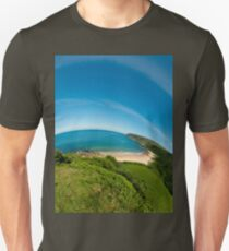 Kinnagoe Bay (as half a planet :-) Unisex T-Shirt