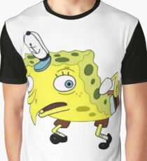 Mocking Spongebob Graphic T-Shirt