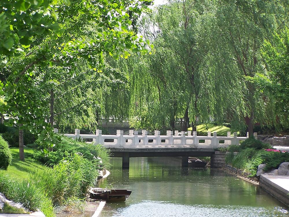 Forbidden City Park 2, Beijing by Carrie Norberg