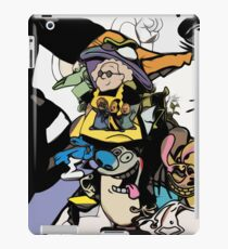 cartoon retro maddness classic tv print abstract  iPad Case/Skin
