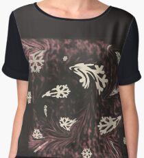 Caught in a snowstorm Women's Chiffon Top