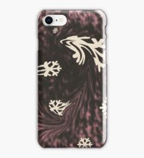 Caught in a snowstorm iPhone Case/Skin
