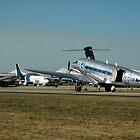 Avalon Airshow-DC-3s & OzJet 737,Australia 2005 by muz2142