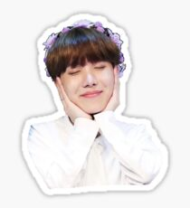 J-Hope Flower Crown Sticker