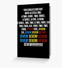 Friends - Seven Erogenous Zones Greeting Card