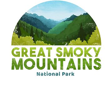 Great Smoky Mountain National Park T shirt Hike by Intune