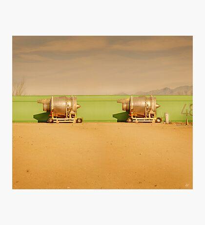 Twin Engines Photographic Print