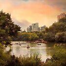 Central Park Lake by Jessica Jenney