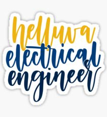 Helluva Electrical Engineer Sticker