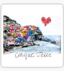 I love Cinque Terre  Sticker