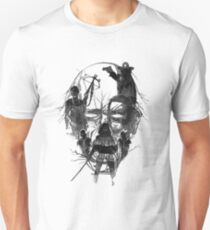 Walking face Unisex T-Shirt